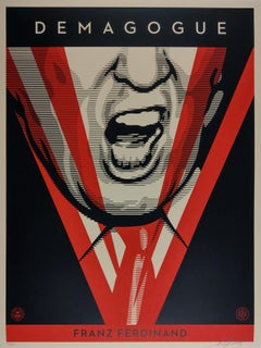 Demagogue - Shepard Fairey Obey Contemporary Print