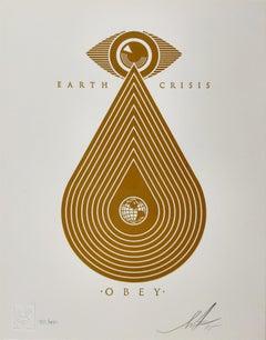 Earth Crisis Letterpress, Obey, Shepard Fairey Activism Street Art Print