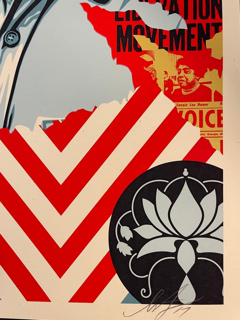 Embrace Justice Shepard Fairey Print Black Lives Matter Signed Numbered Pop Art For Sale 4