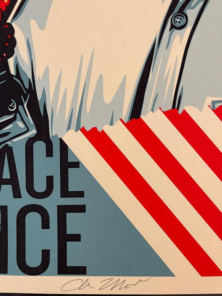 Embrace Justice Shepard Fairey Print Black Lives Matter Signed Numbered Pop Art For Sale 5