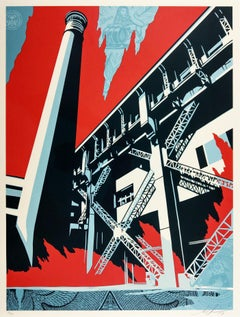 Fossil Factory, Obey - Shepard Fairey Activism Street Art Print