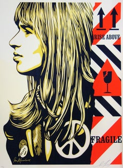 Fragile Peace - Original Screen Print Handsigned and Numbered