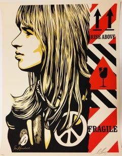 Fragile Peace - Shepard Fairey Obey Contemporary Print