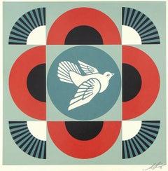 Geometric Dove - Black
