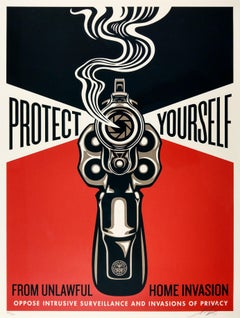 Home Invasion 2 - Shepard Fairey Activism Street Art Print