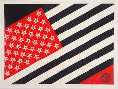 Mayday Flag - Original Handsigned and Numbered Screen Print
