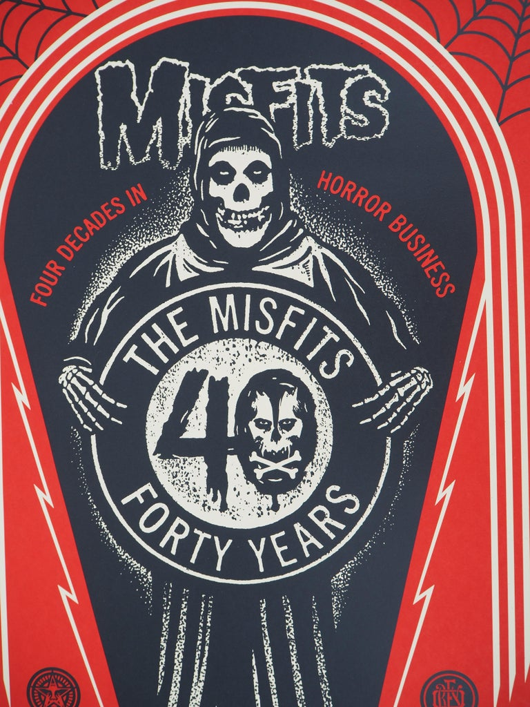 Misfits, For Decades in Horror Business - Handsigned and Numbered Print For Sale 2