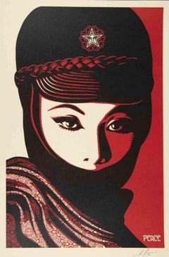 Mujer Fatale - Original Screen Print by Shepard Fairey - 2020