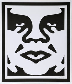 Obey Giant II, Offset Lithograph by Shepard Fairey