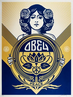 Obey Holiday 2016 - Shepard Fairey Activism Street Art Print