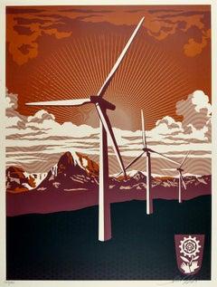 Obey Windmill - Shepard Fairey Activism Street Art Print