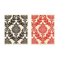 Parlor Pattern, 2010, Set of Silkscreens, Street Art, Urban Art, Obey Giant