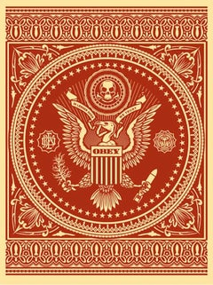 Presidential Seal Red