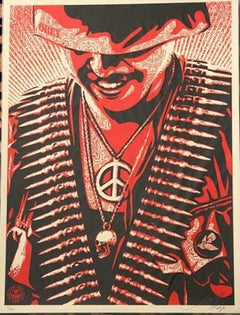 Shepard Fairey, DUALITY OF HUMANITY #1 Silkscreen signed/No. 2008