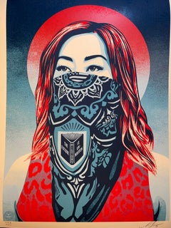 """Shepard Fairey """"Just Future Rising"""" Stop Asian Hate Print Cover Of Time Magazine"""
