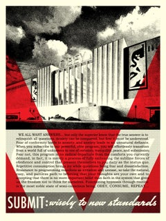 Shepard Fairey - Obey Giant - Conformity Factory - Urban Graffiti Street Art