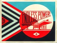 Shepard Fairey - Obey Giant - Endless Power Petrol Place - Urban Street Art