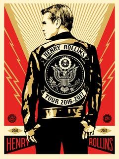 Shepard Fairey - Obey Giant - Henry Rollins Tour 2016-2017 - Street Art Print