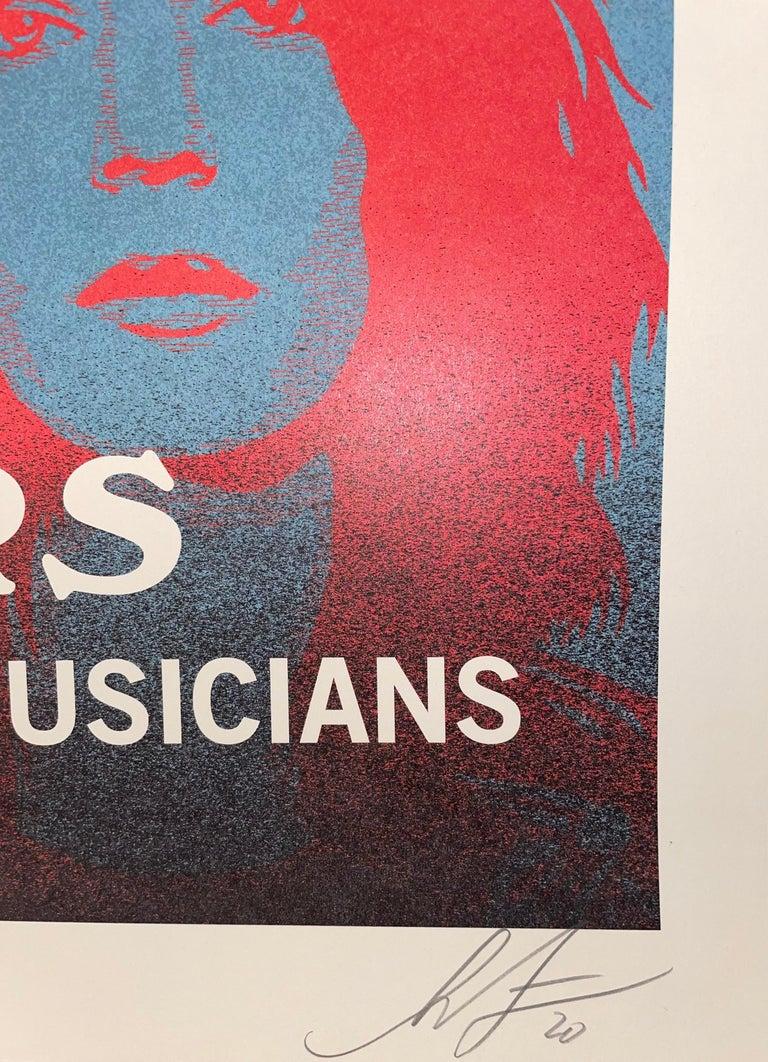 Shepard Fairey Obey Giant John Densmore: The Seekers The Doors Street Art Music  For Sale 2