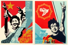 Shepard Fairey - Obey Giant - Revolution in Our Time & Long Live the People
