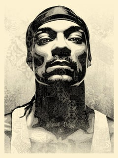 Shepard Fairey - Obey Giant - Snoop D-O Double G -  Urban Graffiti Street Art