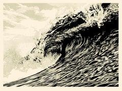 Shepard Fairey - Obey Giant - Wave of Distress : Sepia Ed. - Urban Street Art