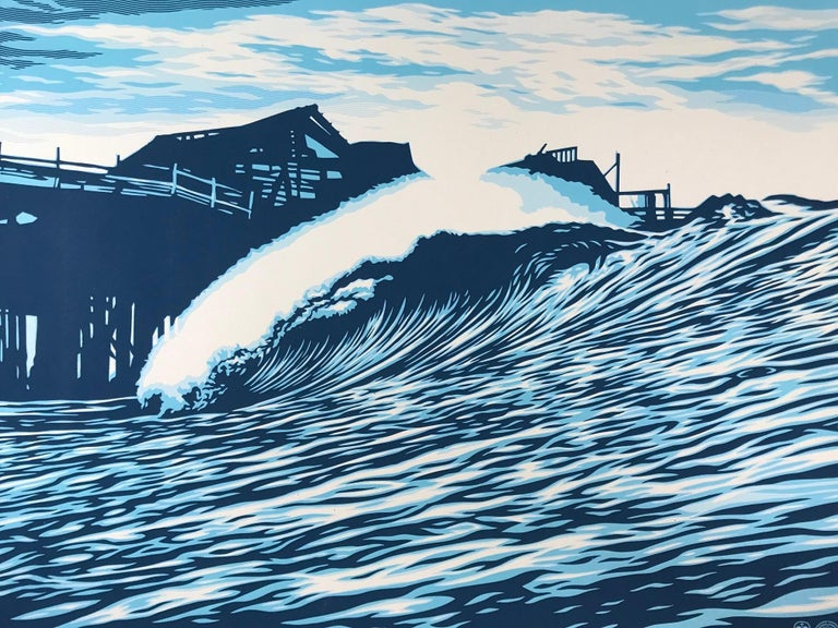 Shepard Fairey POP Wave Print 2016 & C.R. Stecyk III  1