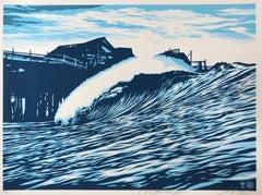 Shepard Fairey POP Wave Print 2016 & C.R. Stecyk III