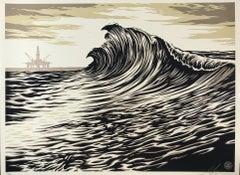Shepard Fairey POP Wave Print 2016 & C.R. Stecyk III Street Art & Contemporary