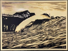 Shepard Fairey POP Wave Print 2016 & C.R. Stecyk III Street Art & Contemporary