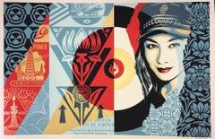 Shepard Fairey Raise The Levels Print Obey Giant Poster 2019 Street Art Pop Art