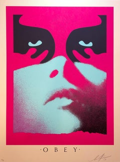 Shepard Fairey Shadowplay Print Signed and Numbered Icon Face Obey Giant Street