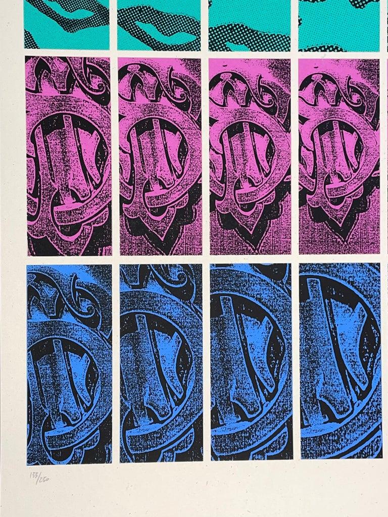 Shepard Fairey TWENTY-ONE Print Obey Giant Studio Number One Echo Park Urban Art For Sale 3