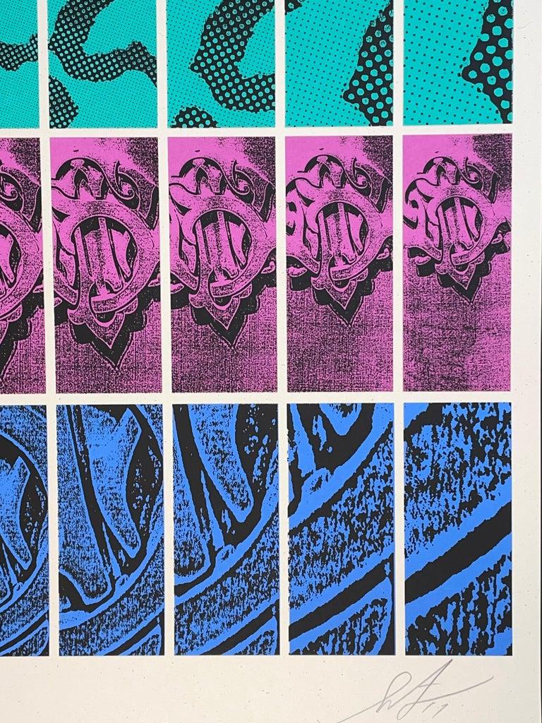 Shepard Fairey TWENTY-ONE Print Obey Giant Studio Number One Echo Park Urban Art For Sale 5