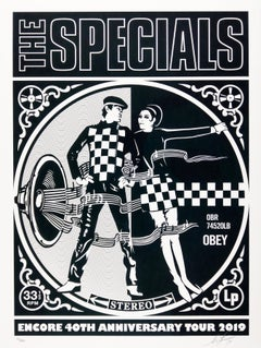 Specials Encore 2019 Tour, Obey - Shepard Fairey Band Poster Street Art Print