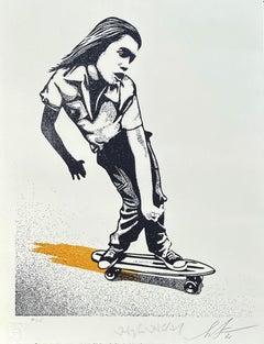 The Skater - Original Screenprint Handsigned Numbered /115