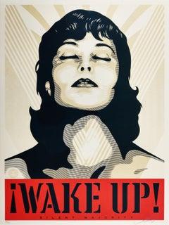 Wake Up! Cream, Obey - Shepard Fairey Activism Street Art Print