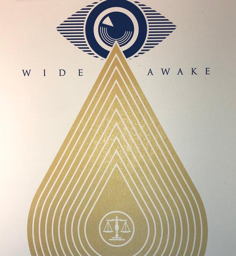 Wide Awakes Campaign 2020 Shepard Fairey Stay Woke Print Street Art Dump Trump For Sale 6