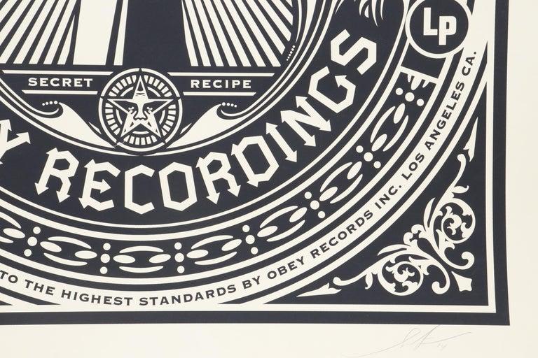 Brutalist Shepard Fairey Serigraph Large Format Artist Signed