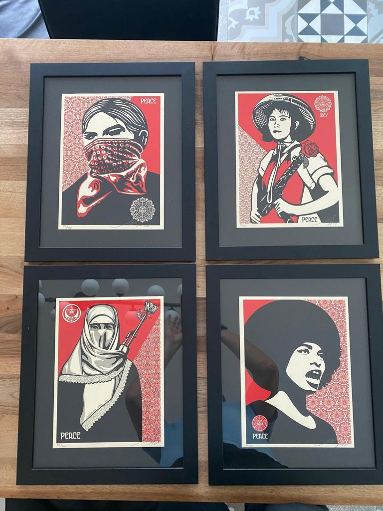 Shepard Fairey Supply and Demand 20th Anniversary signed and numbered Serigraphs For Sale 5