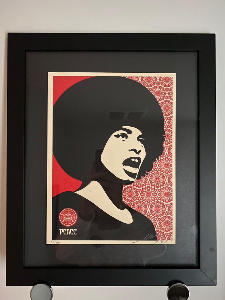 Shepard Fairey Supply and Demand 20th Anniversary signed and numbered Serigraphs For Sale 3