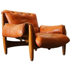"""Sheriff"" Armchair by Sergio Rodriguez from I.S.A. Bergamo Mid-Century Modern"