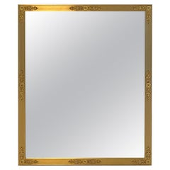 Sherle Wagner Filigree Mirror Small in Gold