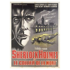 Sherlock Holmes and the Deadly Necklace 1962 French Grande Film Poster