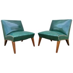 Sherman Bertram 1940's Modern Lounge Chairs
