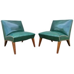 Sherman Bertram 1940's Modern Lounge Chairs
