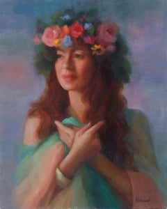 Spring Flowers, Oil Painting
