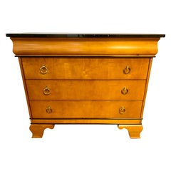 Neoclassical Style Marble-Top Dresser Chest of Drawers by Sherrill