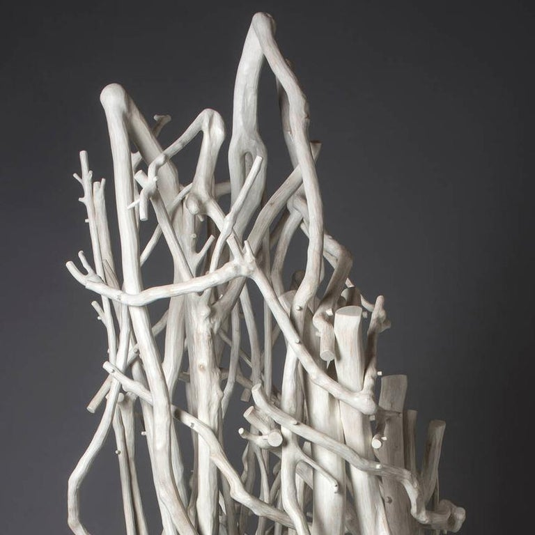 Twirling like a Seed in the Wind - Sculpture by Sherry Owens