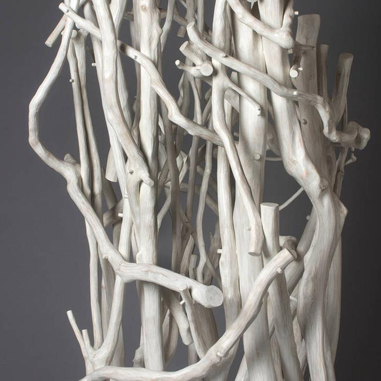 Twirling like a Seed in the Wind - Contemporary Sculpture by Sherry Owens